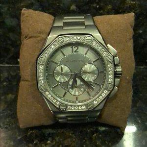 Michael Kors Knox gunmetal watch